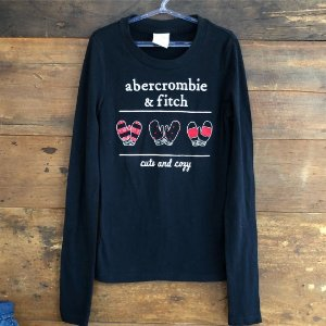 Camiseta Manga Longa Abercrombie - 6 anos