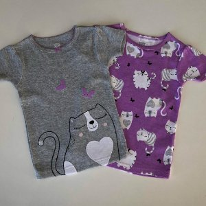 Camisetas de pijama Carter's - 18 Meses