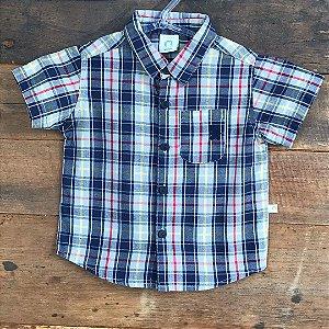 Camisa Seminova - 6 a 9 meses