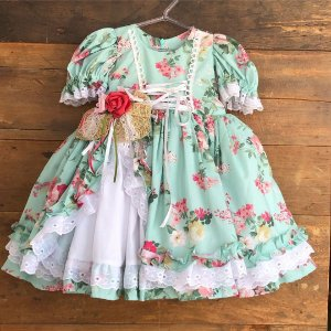 Vestido Junino Seminovo - 1 ano