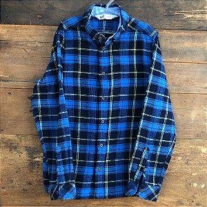 Camisa H&M Flanelada - 9 a 10 anos