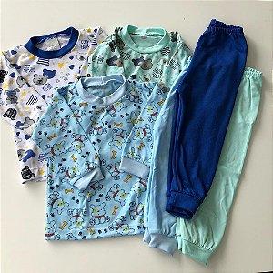 Pijamas Seminovos - 3 a 6 meses