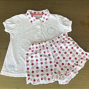 Pijama Cara de criança - 2 anos