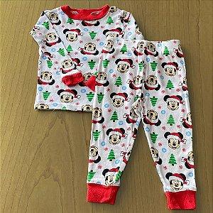 Pijama Disney - 12 meses