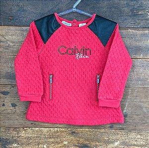 Blusa Calvin Klein - 18 meses