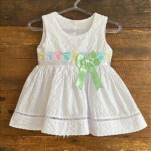 Vestido Seminovo - 6 a 9 meses