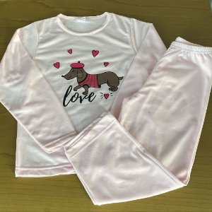 Pijama Seminovo - 4 anos - 6 anos e 8 anos