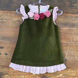 Vestido Seminovo - 6 meses
