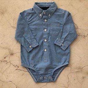 Body - Camisa Oshkosh - 18 meses