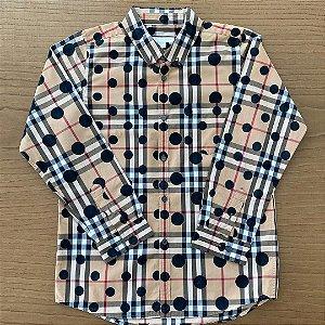 Camisa Burberry - 10 anos