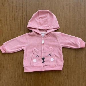 Casaquinho Fleece Carter's - 3 meses