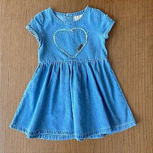 Vestido Seminovo - 12 meses