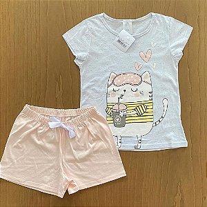 Pijama BY GUS - 1 ano - 2 anos - 3 anos - 4 anos - 6 anos e 8 anos