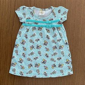 Vestido Seminovo - 3 a 6 meses