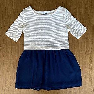 Vestido Náutica - Tamanho 7 anos