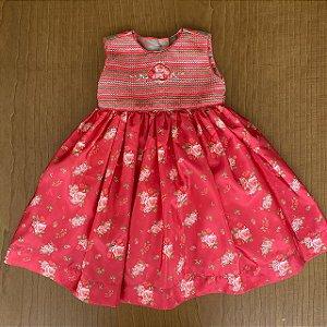 Vestido Mio Bebê - 12 meses