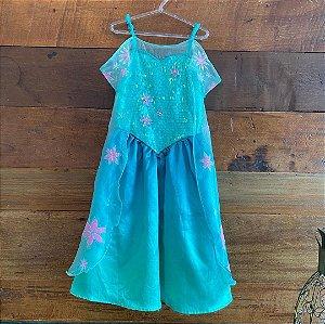 Vestido Princesa Ana de Primavera - 5 a 6 anos