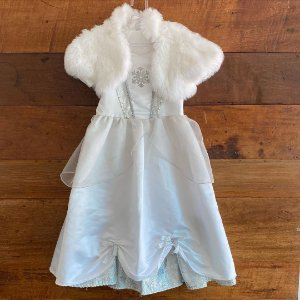 Fantasia Elsa Noiva Disney - 6 anos