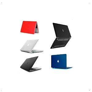 Case Capa Macbook Pro 13 A1278 Preto Fosco Ou Cristal