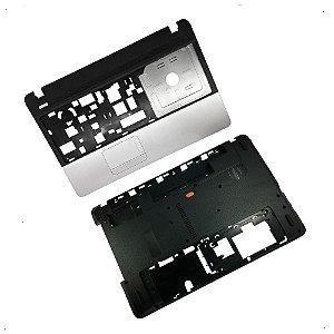 Carcaça Base Superior + Inferior Acer E1-521 E1-531 E1-571