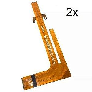 Kit com 2 Flats Cable Pioneer Avh 3550 3580 Avh3580dvd