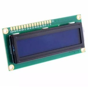 Display Lcd 16x2 1602 Com Back Azul