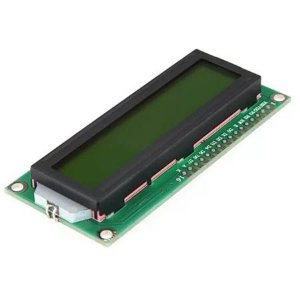 Display Lcd 16x2 1602 Com Back Verde