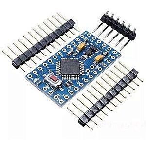 Placa Arduino Pro Mini Atmega328p 5v 16mhz