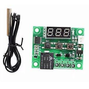 Termostato Controle Temperatura W1209 Arduino Chocadeira