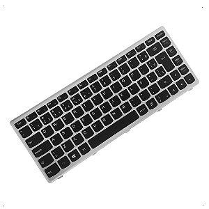 Teclado para Notebook Lenovo G400s 25211125 Mp-1296pa-686