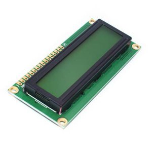 Lcd Display 16x2 Arduino  Fundo Amarelo - Arduino- Pic