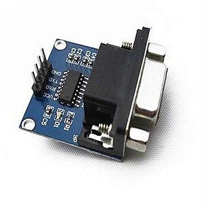Conversor Rs232 Para Ttl Serial Db9 Fêmea