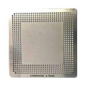 Stencil Cxd9833gb 0,76mm Calor Direto Reballing Bga