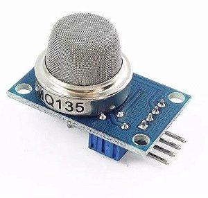 Detector / Sensor De Gás Mq-135 - Amônia, Fumaça - Arduino