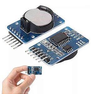 Módulo Rtc Relógio Tempo Real Para Arduino Ds3231 At24c32