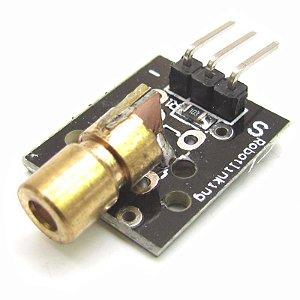 Modulo Sensor Laser Ky-008 Arduino Pic