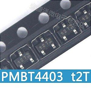 Transistor Pmbt4403 W2t Sot23 - Kit Com 10 Peças
