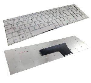 Teclado Para Notebook Sony Vaio Svf152c29x Svf15213cbw Com Ç