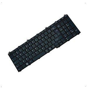 Teclado para Notebook Toshiba Satellite L655 L655D C655 NSK-TN0GV01
