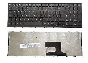 Teclado Para Notebook Sony Vaio Pcg-71911x VPCEH30EB VPCEH30EB/W BR  Ç Preto
