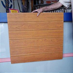 Painel Placa 3d Madeira Rústico Espuma Adesiva 70 X 76 Parede