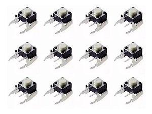 kit 12 Botão Rb Lb Shoulders Reparo Controle Xbox One// Xbox 360