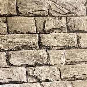 Papel de Parede Pedras  3d Vinílico Lavável Texturizado