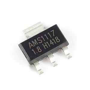 5 Ci Smd Ams1117 1.8v Regulador De Tensão Sot-223 -  xbox 360/Arduino