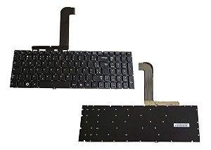 Teclado P/ Notebook Samsung Np-rf511 Sem Topcase Novo C/ Ç