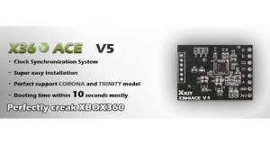 5x PEÇAS  X360 Ace V5 - X360ace V5 - Novo