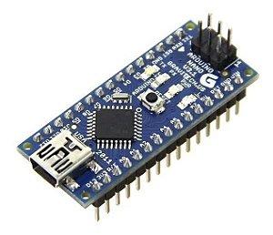 Arduino Nano V3 V3.0 Ch340  C/ Pinos Soldado