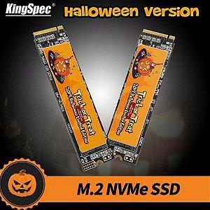 Ssd M2 Kingspec 128gb Nvme 2280 Halloween
