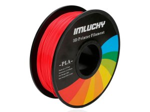 Filamento Pla Impressora 3d 1kg 1.75mm Premium Vermelho Top