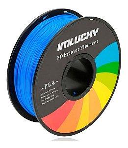 Filamento Pla Impressora 3d 1kg 1.75mm Premium Azul Top